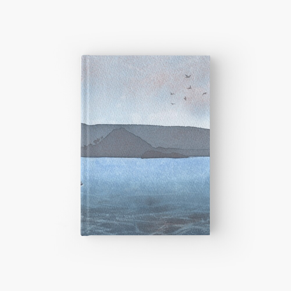 Berwick Law and Craig Leith, November 2018 Hardcover Journal
