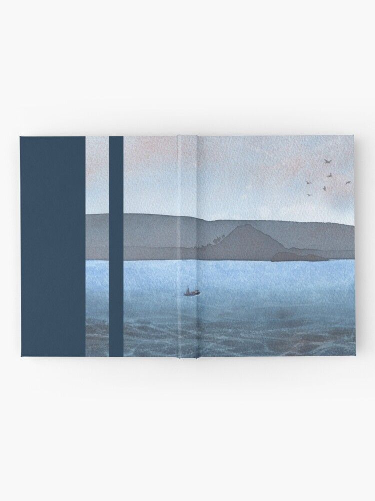 Alternate view of Berwick Law and Craig Leith, November 2018 Hardcover Journal