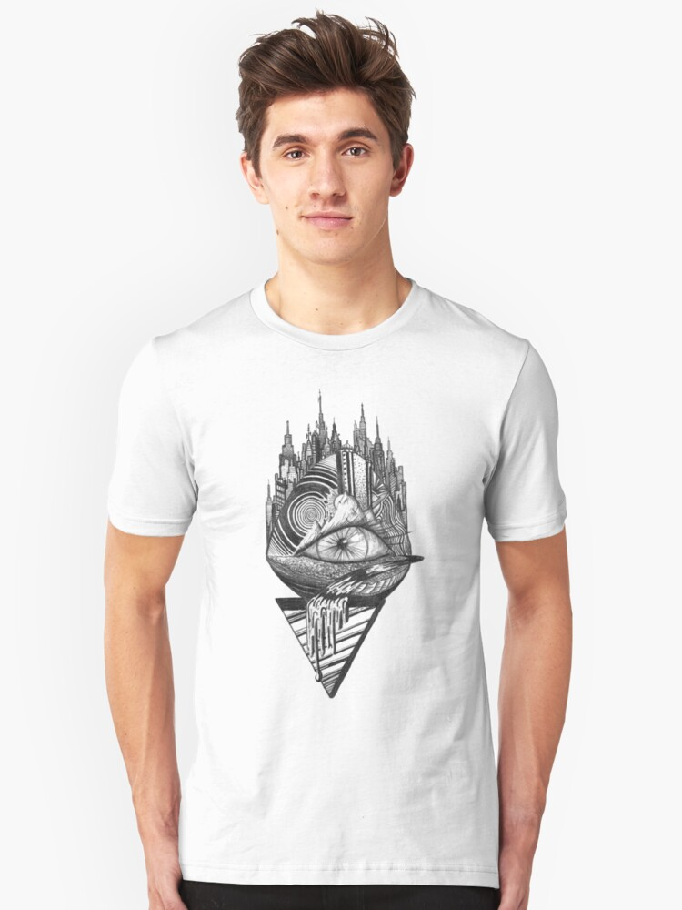 Eye Abstract Unisex T-Shirt Front