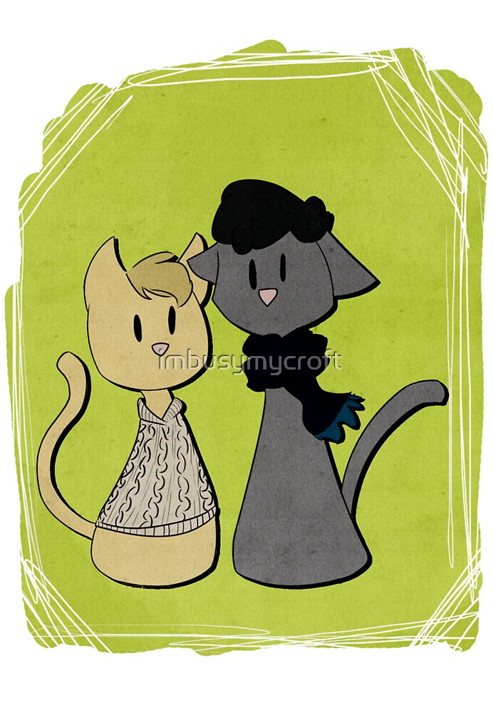 Sherlockian Cats by imbusymycroft