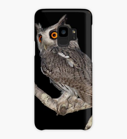 Southern White Faced Owl Case/Skin for Samsung Galaxy