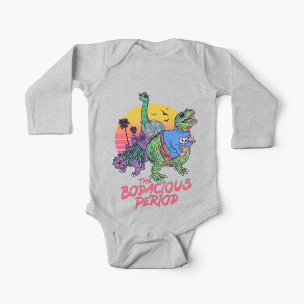 The Bodacious Period Long Sleeve Baby One-Piece