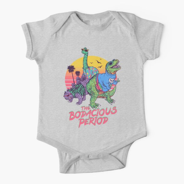 The Bodacious Period Short Sleeve Baby One-Piece