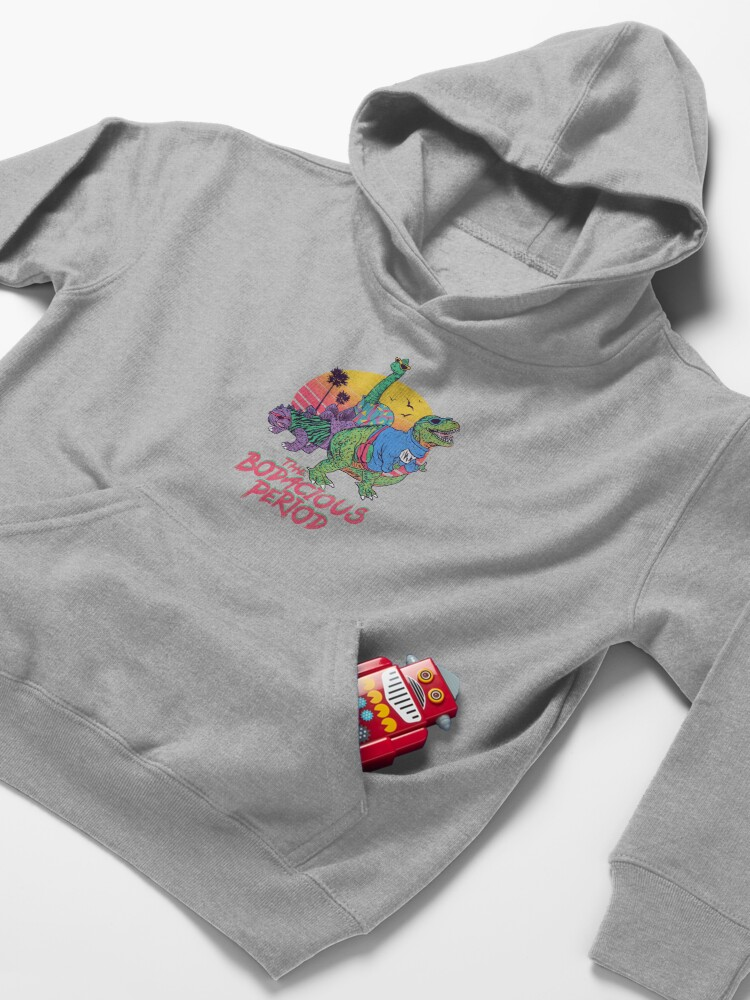 Alternate view of The Bodacious Period Kids Pullover Hoodie