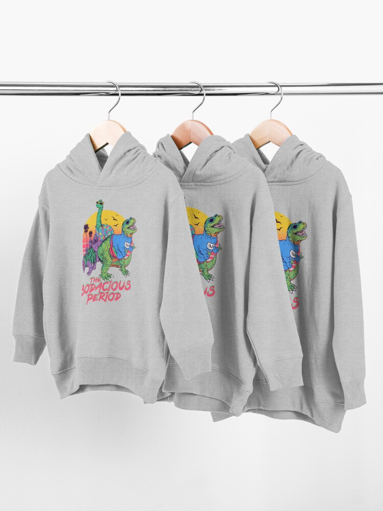 Alternate view of The Bodacious Period Toddler Pullover Hoodie