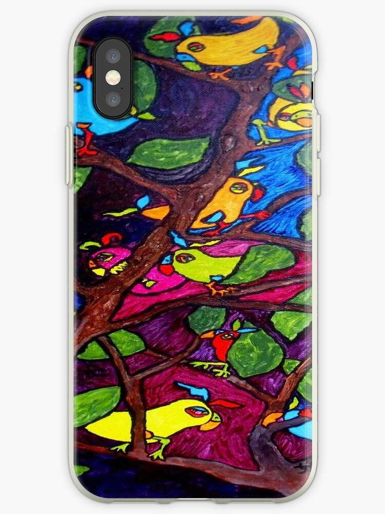 BU-SCHI-GANG iPhone Case by TrixiJahn