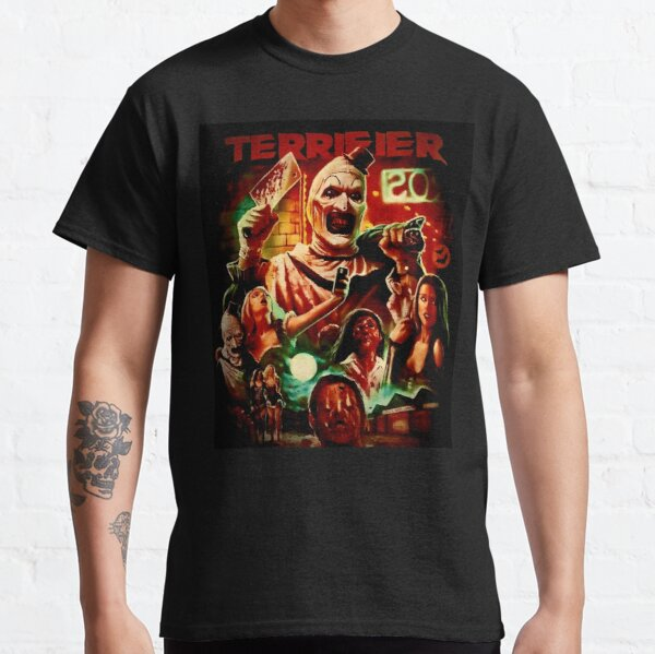 Terrifier Horror Movie Art the clown  Classic T-Shirt