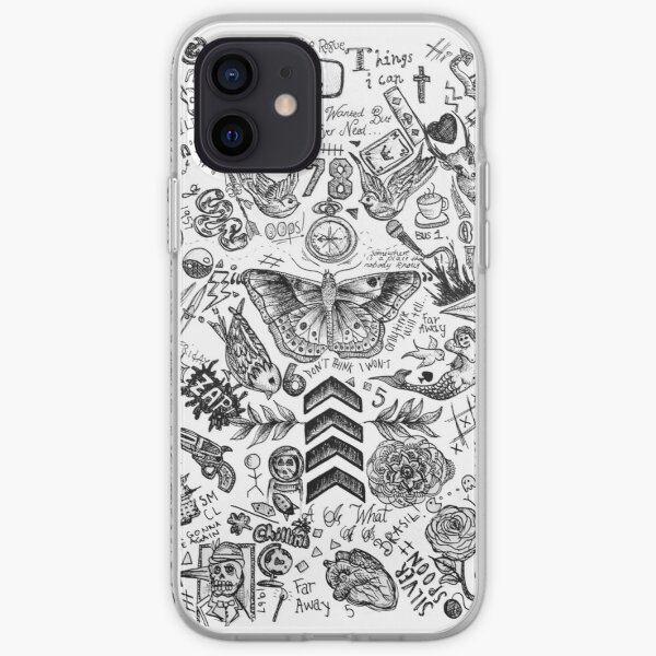 Tatouages ​​One Direction Coque souple iPhone