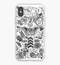 One Direction tattoos iPhone Case
