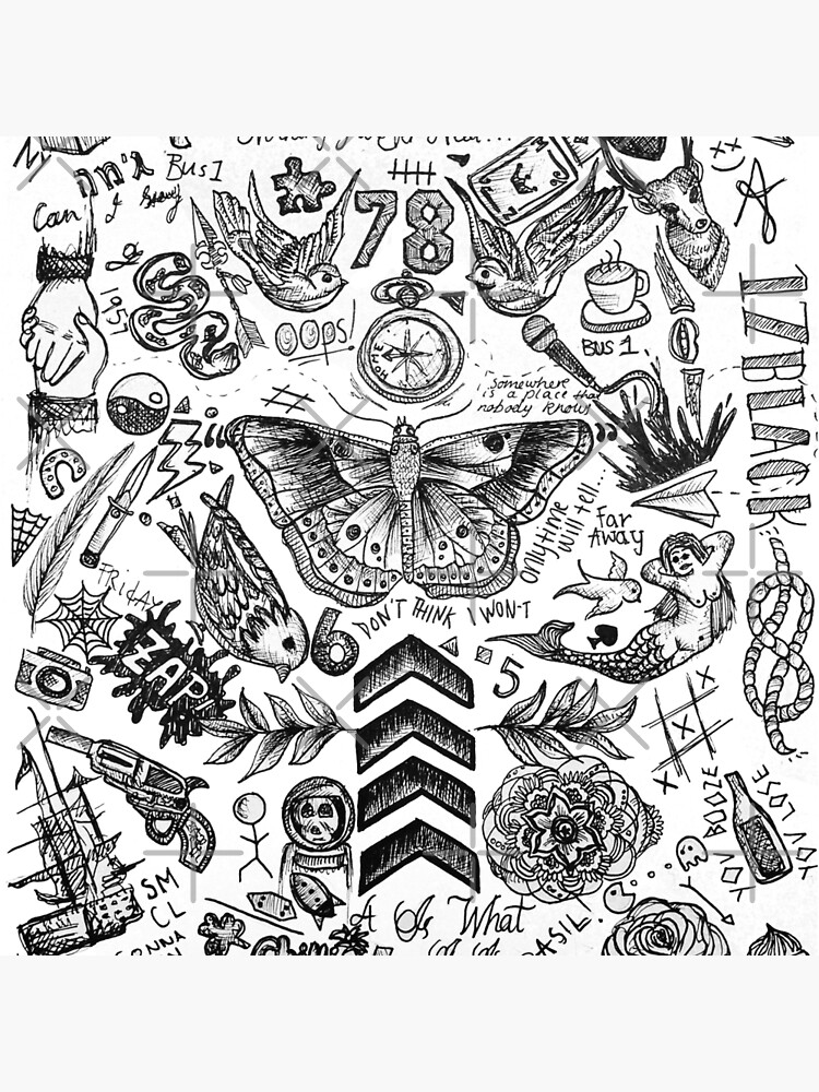 One Direction tattoos by tashalmighty