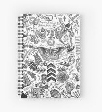 Cuaderno de espiral Tatuajes de One Direction