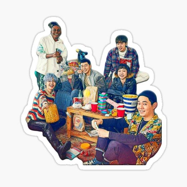 Clase Itaewon - Familia DanBam Pegatina
