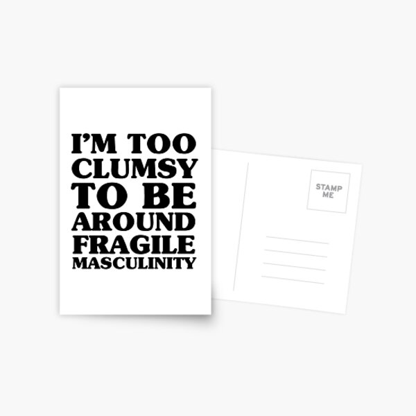 Too Clumsy Postcard