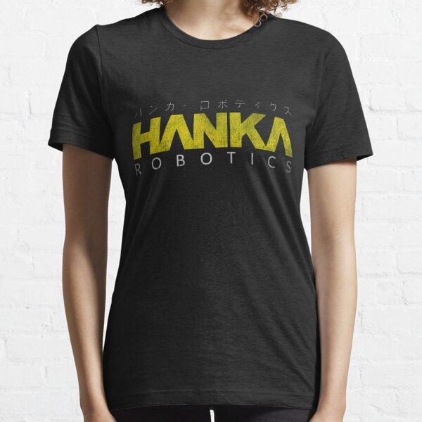 Fantôme dans la coquille Hanka Robotics T-shirt essentiel
