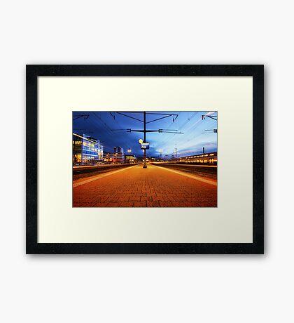 Destination Unknown Framed Print