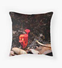 Electrifying Fungus Throw Pillow
