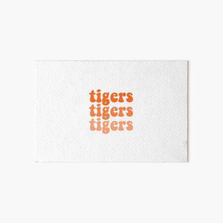 Clemson Tigers Art Board Print