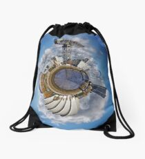 Planet Glasgow Drawstring Bag