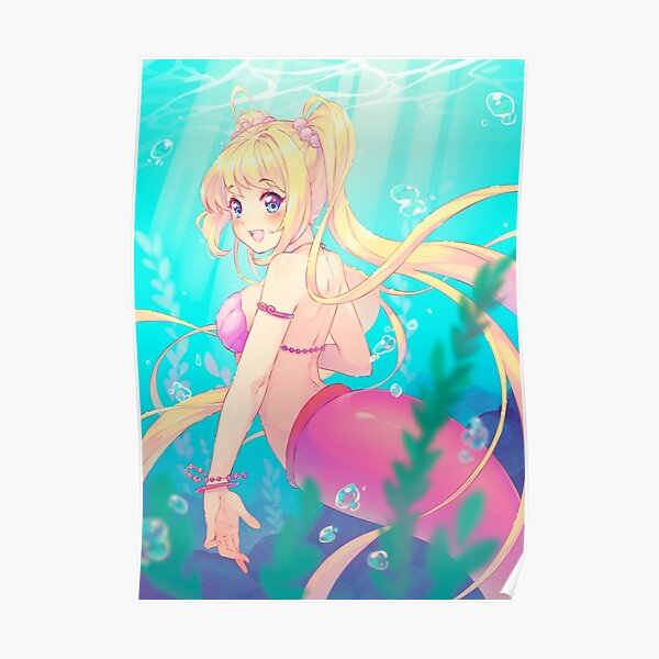 Mermaid Melody Poster