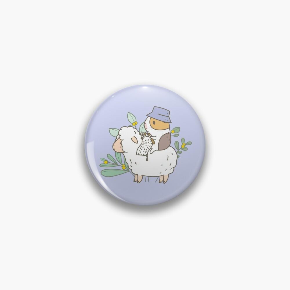 Bubu  the Guinea Pig, Knitting  Pin