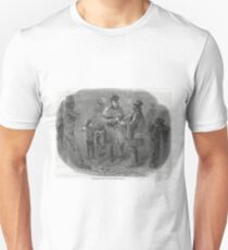 The Victorian Christmas Waits 1848 Unisex T-Shirt