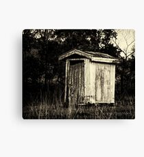 The local dunny Canvas Print