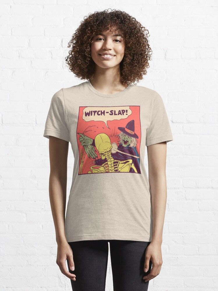 Alternate view of Witch-Slap Essential T-Shirt