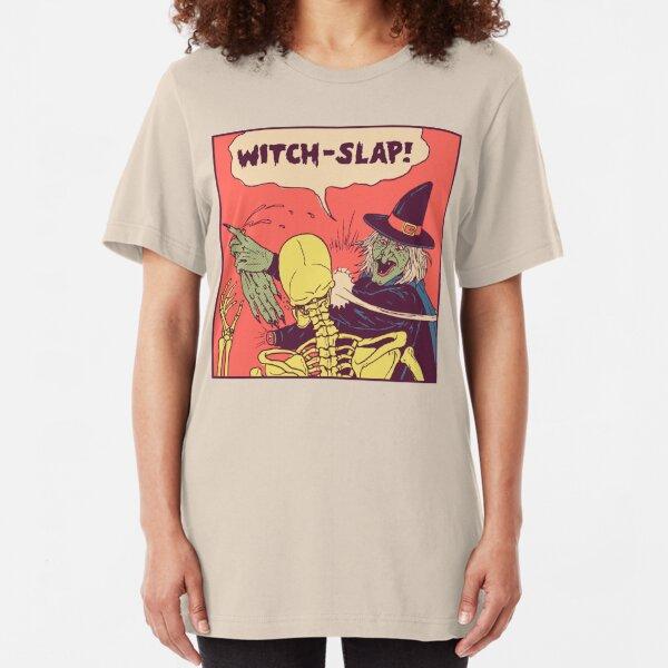 Witch-Slap Slim Fit T-Shirt