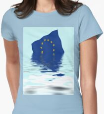 Crisis in the European Union Womens Fitted T-Shirt