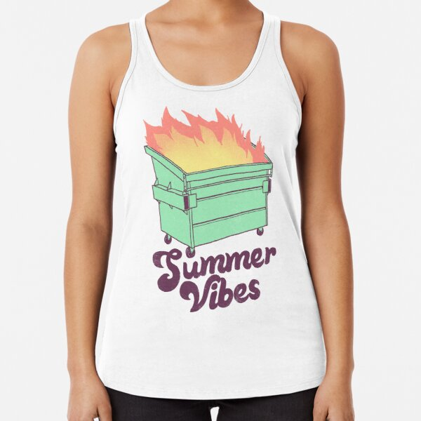Summer Vibes Racerback Tank Top