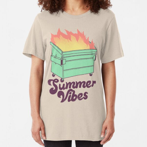 Summer Vibes Slim Fit T-Shirt