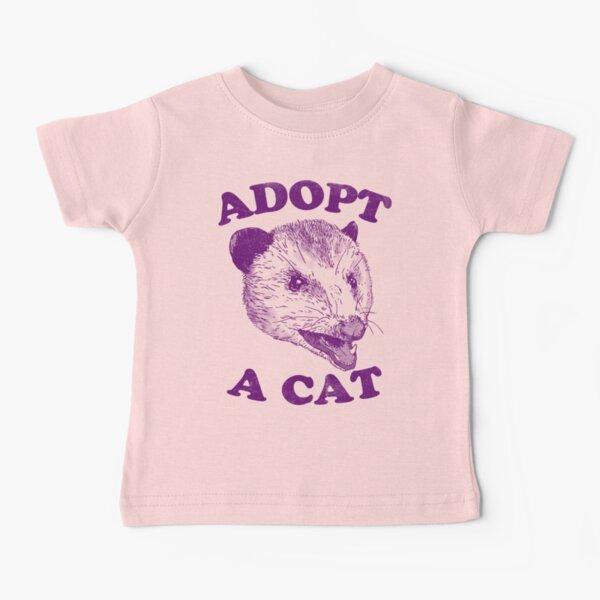 Adopt A Cat Baby T-Shirt