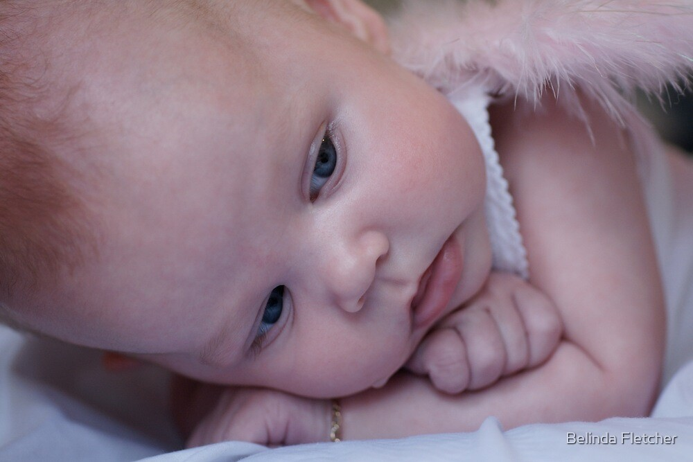 My Precious Pink Christmas Angel by Belinda Fletcher