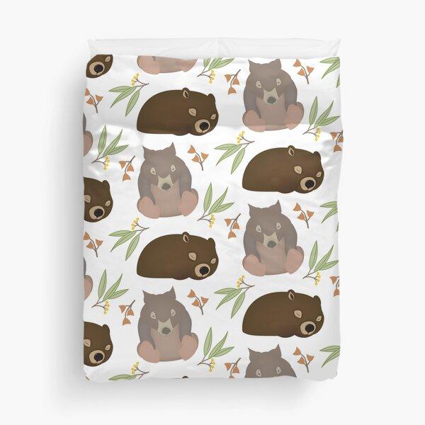 Sleepy Wombats Duvet Cover