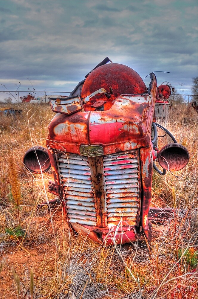 Tractor - Big Spring, Texas by jphall