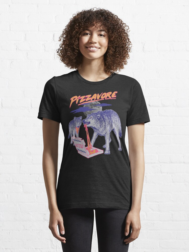 Alternate view of Pizzavore Essential T-Shirt