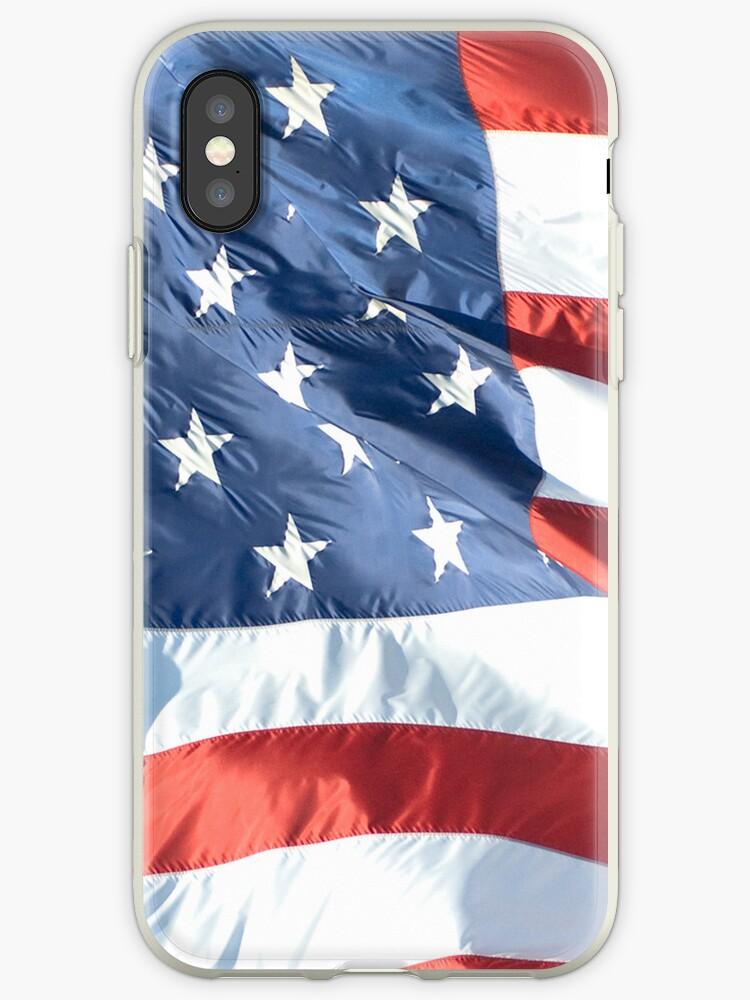 Waving American Flag by pjwuebker
