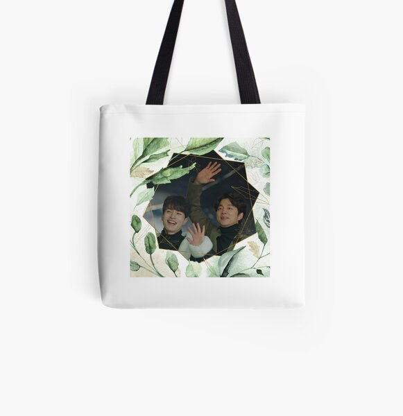 lee dong wook and gong yoo All Over Print Tote Bag