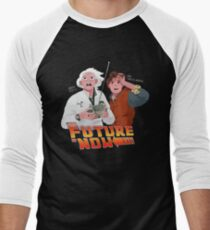 The Future is Now...That's Heavy Men's Baseball ¾ T-Shirt