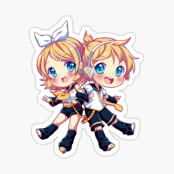 Kagamine Twins Sticker
