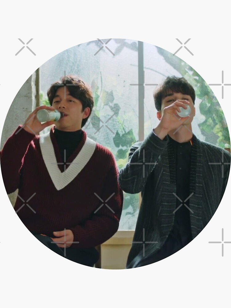 lee dong wook and gong yoo - drinking - goblin by gilmorealtomare