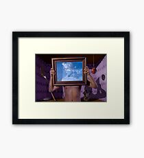 Personal Values (Magritte) Framed Print