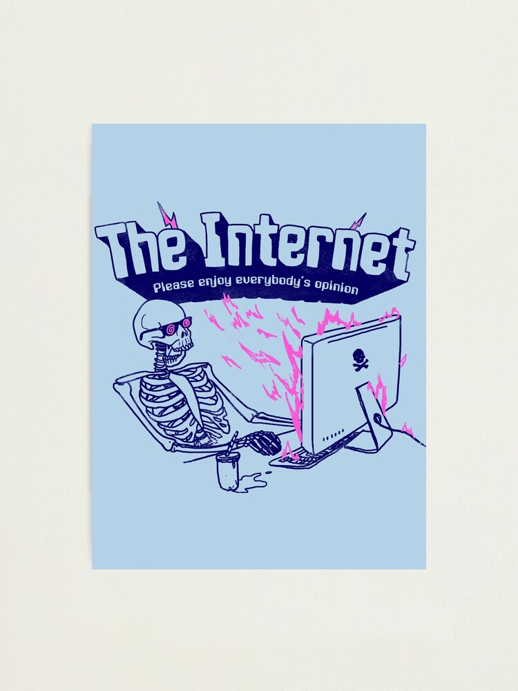 Alternate view of The Internet Photographic Print