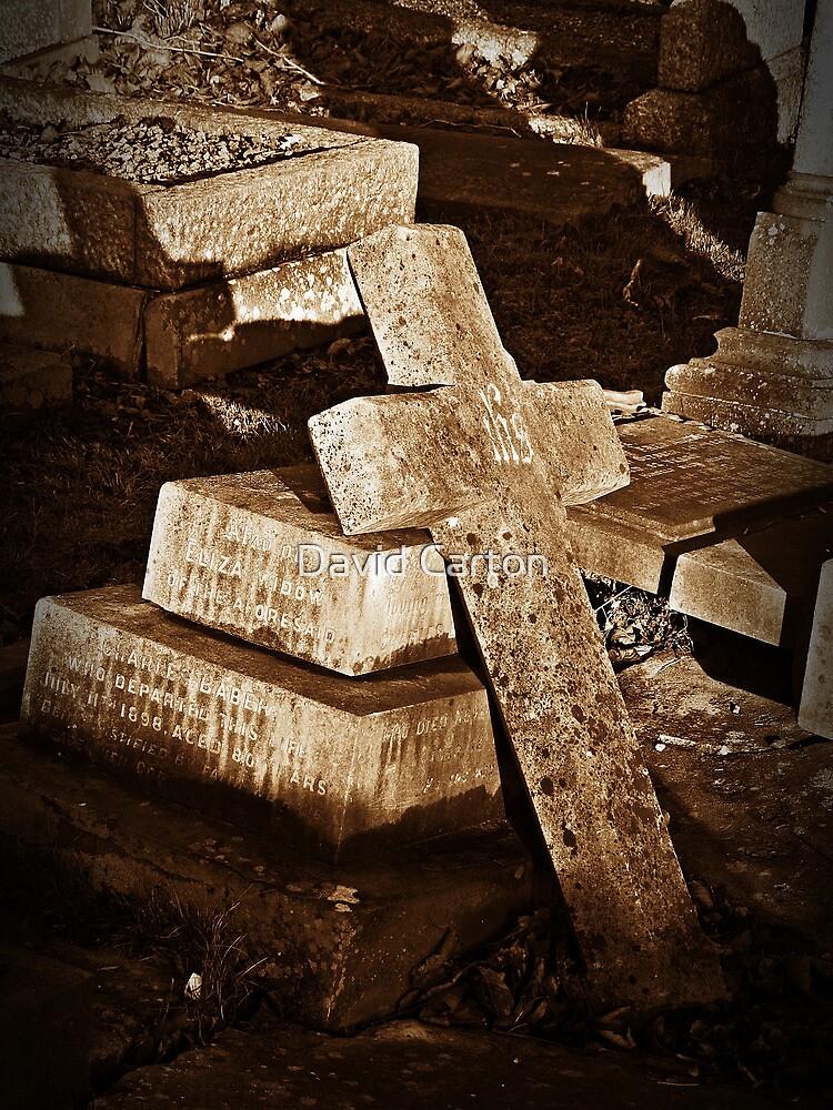 The cross that fell.. by David Carton