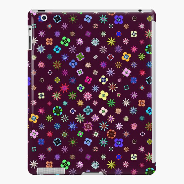 Happy Flower Pattern on Mulberry PanicDay iPad Snap Case