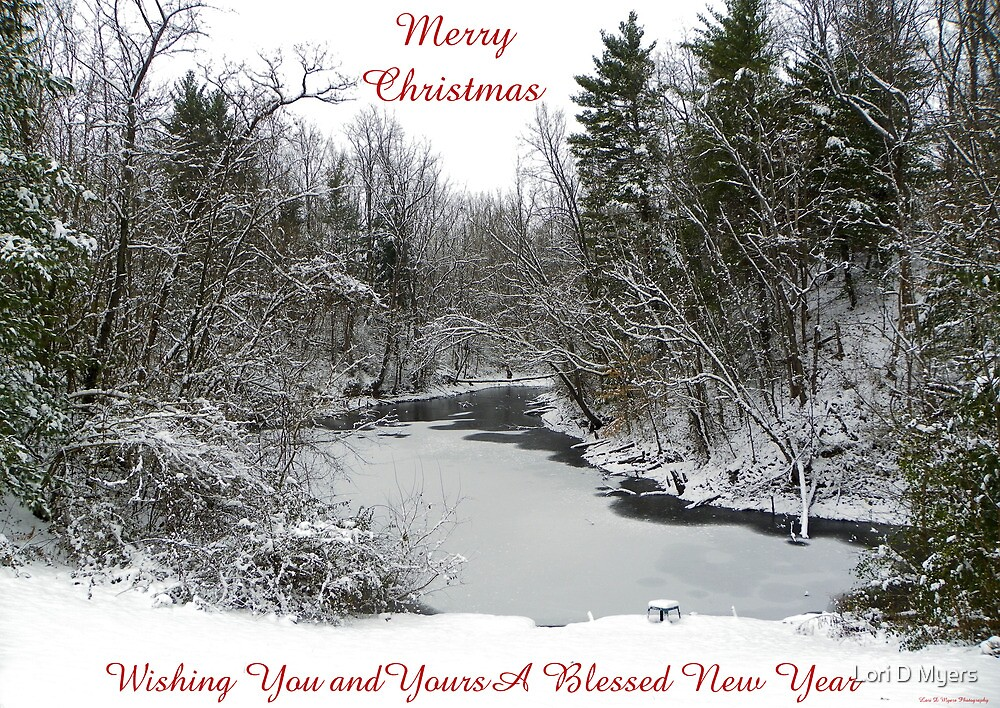 Merry Christmas by Lori D Myers