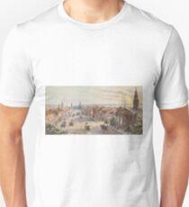 Camiseta ajustada Vintage Broadway NYC Artwork (1840)