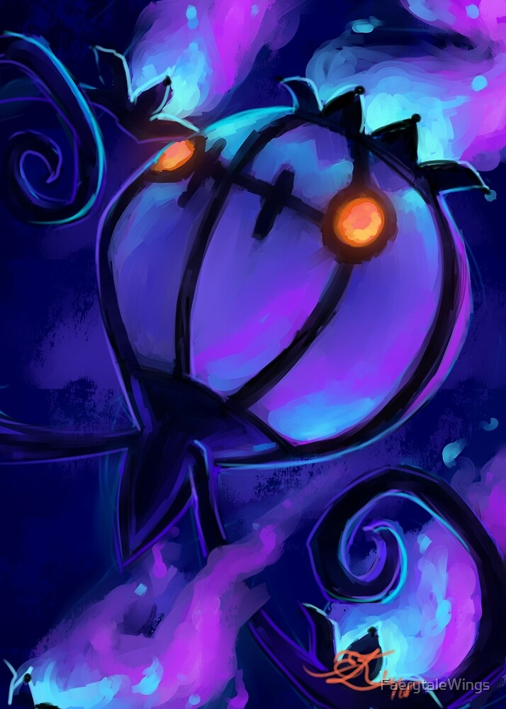 Chandelure by FaerytaleWings