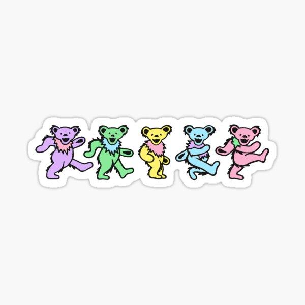 Pastel Bears Sticker