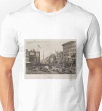 Camiseta unisex Vintage Broadway NYC Illustration (1840)